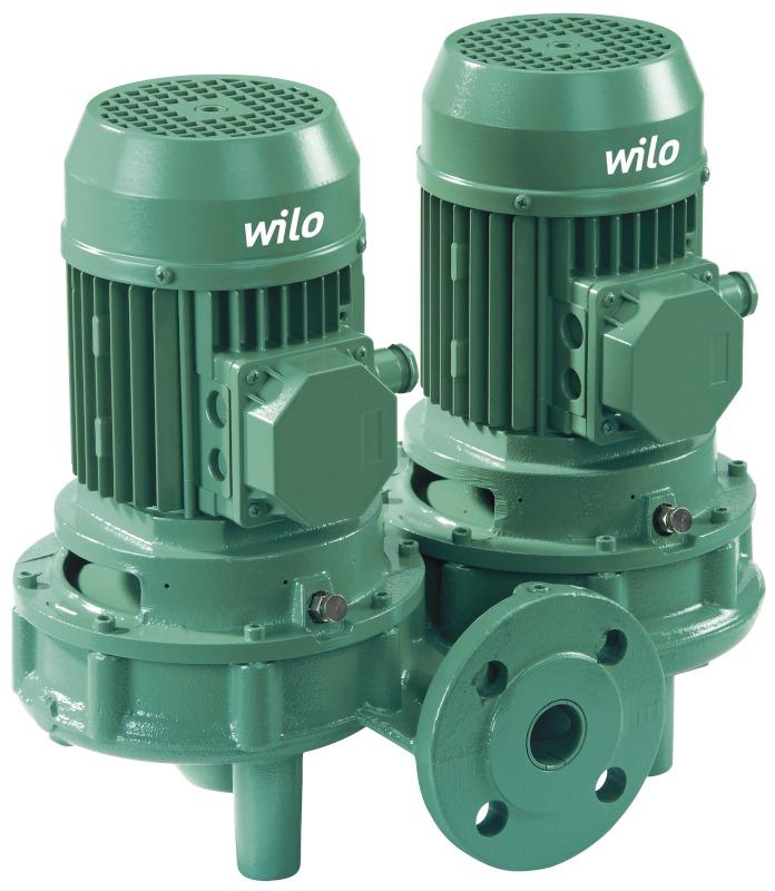 Насос Wilo-VeroTwin-DPL 100/165-2,2/4