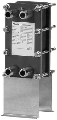Разборный теплообменник XG 10 (1 ходовой) 004B5030