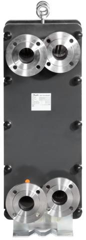 Разборный теплообменник XG 31 H/L (1 ходовой) 004B1382