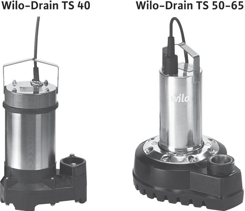 Насос Wilo-Drain TS 40/14-A
