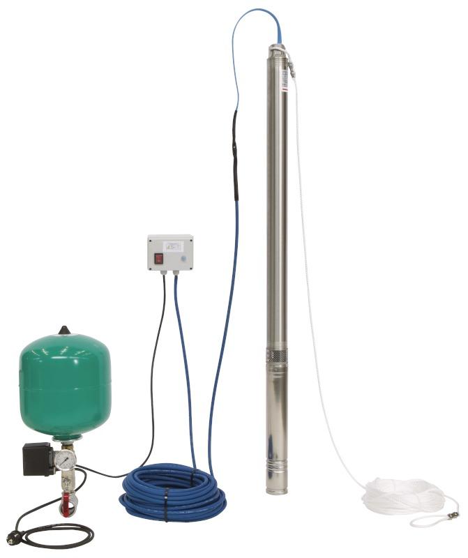 Насос Wilo-Sub TWU 4-0409-C-Plug&Pump/DS (1~230 V, 50 Гц)