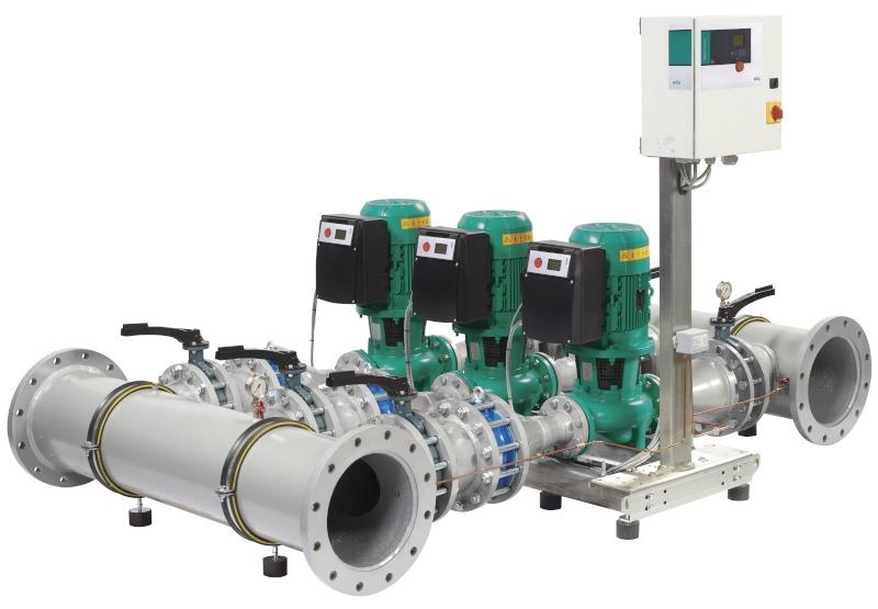 Насос Wilo-SiFlux 21-IP-E 50/130-2,2/2-SC-16-T4