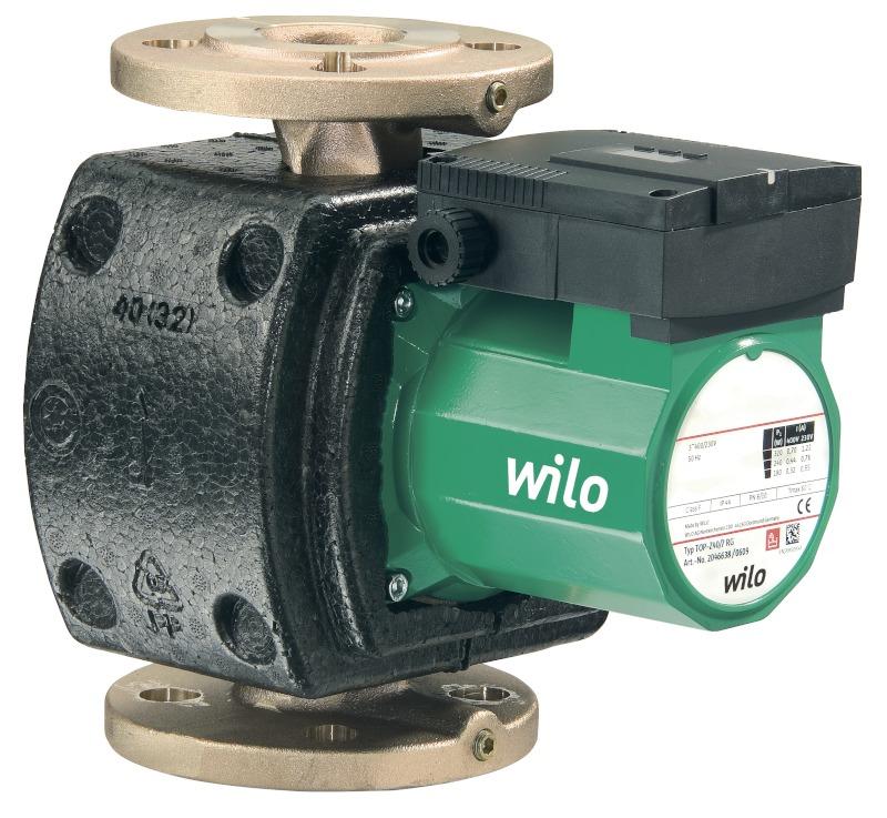 Насос Wilo-TOP-Z 40/7 (3~400 V, PN 16, RG)