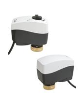 >Электроприводы седельных клапанов для терминального и зонального регулирования