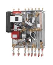 >Тепловые пункты для независимого отопления и ГВС