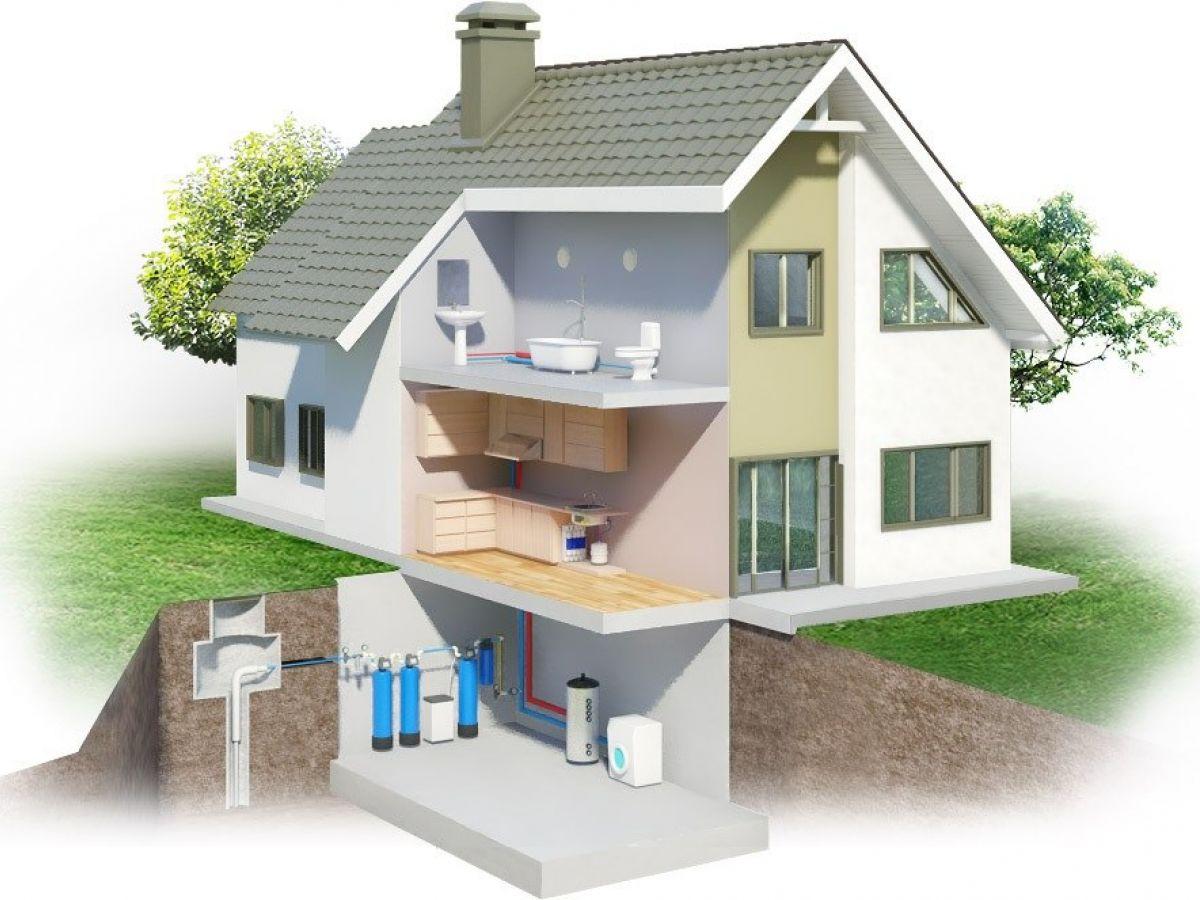 Водоподготовка для загородного дома: основные решения