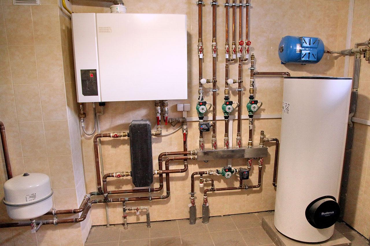Теплообменник для отопления и ГВС в частном доме