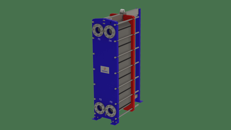 Теплообменник пластинчатый Phoenix APR 47 EPDM на 40 пластин 0,5 мм