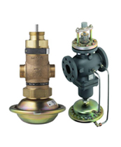 >Комбинированные регулирующие клапаны с автоматическим ограничением расхода
