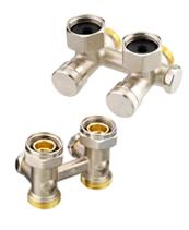 >Запорно-присоединительные радиаторные клапаны