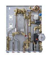 >Тепловые пункты для зависимого отопления (со смесительным узлом) и ГВС