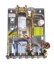 >Тепловые пункты для зависимого отопления и ГВС